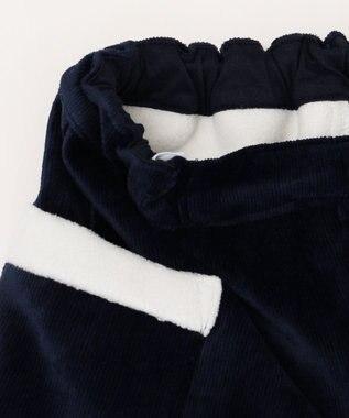 any FAM KIDS 【ぷっちぐみ12月号掲載/100~130cm】ボンディングボア ショートパンツ ネイビー系