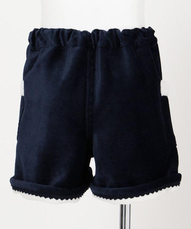any FAM KIDS 【ぷっちぐみ12月号掲載/100~130cm】ボンディングボア ショートパンツ