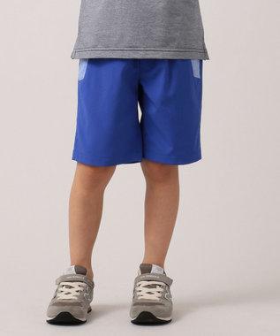 J.PRESS KIDS 【110-130cm】ドライストレッチ ハーフパンツ ブルー系