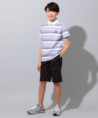 J.PRESS KIDS 【140-170cm】20/16ツイル ハーフ  パンツ グレー系