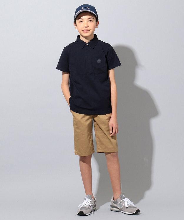 J.PRESS KIDS 【140-170cm】20/16ツイル ハーフ  パンツ