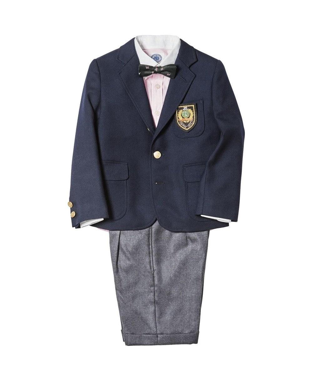 J.PRESS KIDS 【SCHOOL】ウールサージ ハーフパンツ グレー系