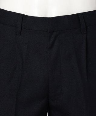 J.PRESS KIDS 【SCHOOL】ウールサージ ハーフパンツ ネイビー系