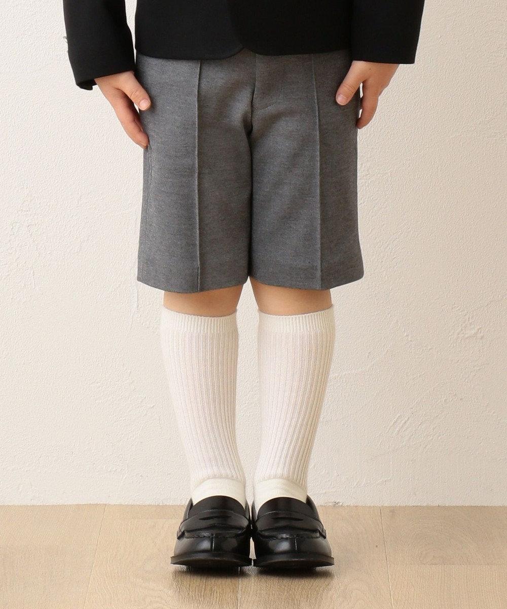 J.PRESS KIDS 【110-130cm】60/-モクロディ ハーフパンツ ライトグレー系