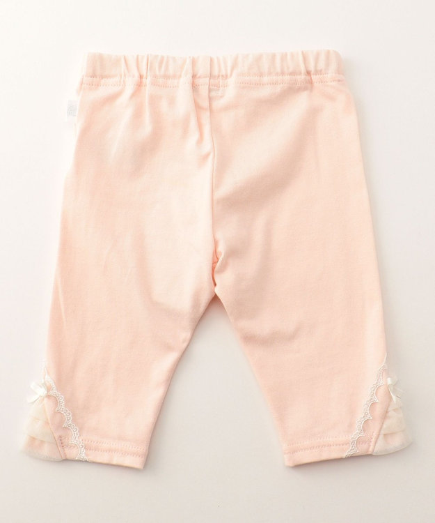 組曲 KIDS 【BABY】オーガニック天竺 スパッツ ピンク系