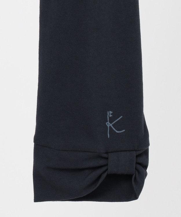 組曲 KIDS 【150-160cm】7分丈リボン スパッツ