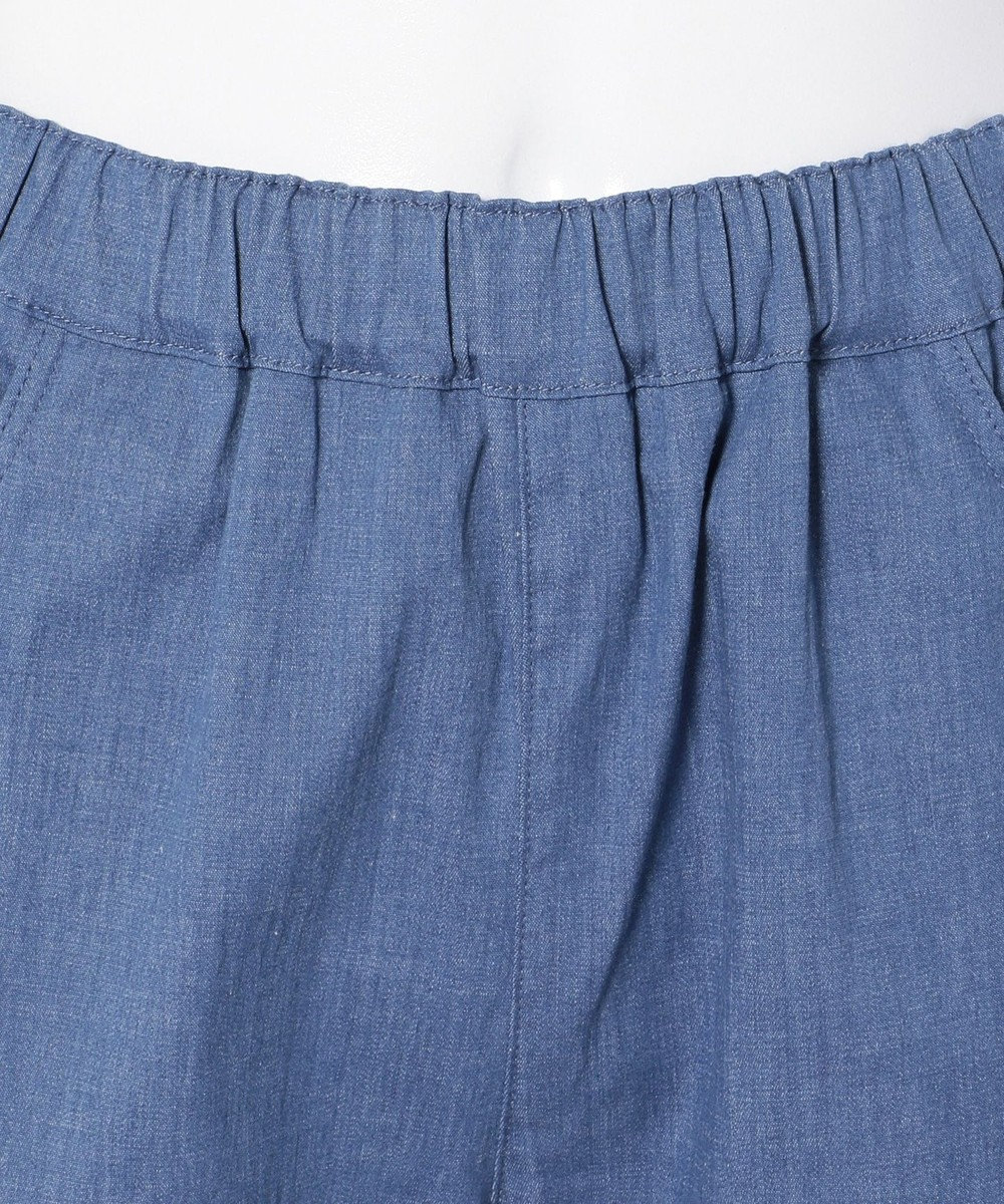 組曲 KIDS 【SCHOOL】ストレッチラッフルデニム パンツ ブルー系