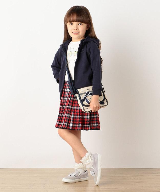 組曲 KIDS 【SCHOOL】30/天竺 チェックPT スカート (インパンツ付き)