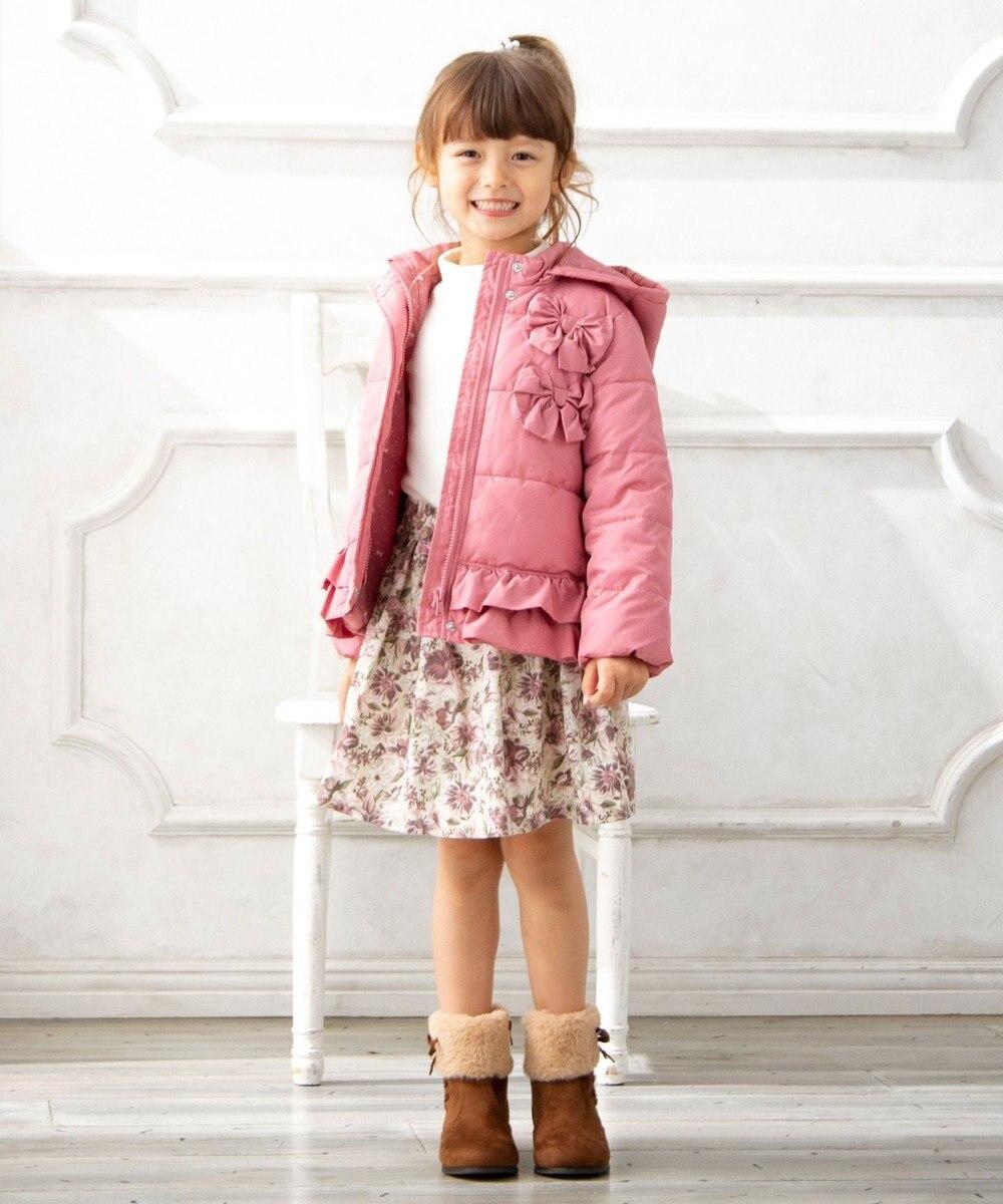 any FAM KIDS 再入荷!【140-150cm】抗菌/静電防止/マシンウォッシャブル コート ピンク系
