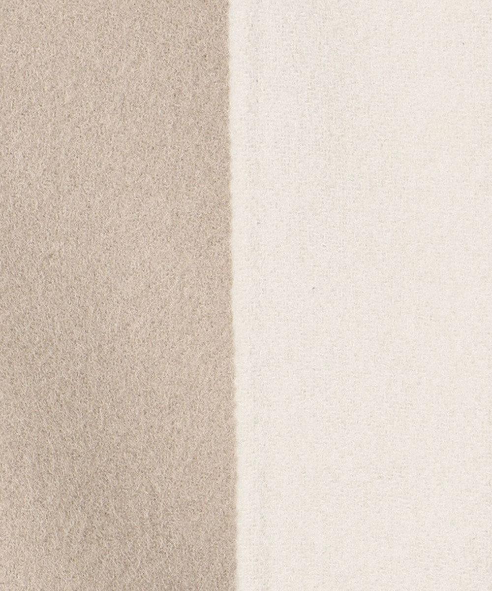 J.PRESS LADIES S 【リバーシブル】スーパー110SリバーチェックII フーデッドコート ブラウン系