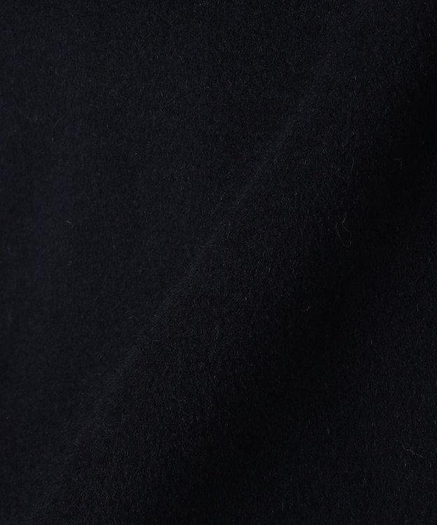 J.PRESS LADIES S 【取り外せるベルト付】アンゴラビーバー フード付きコート