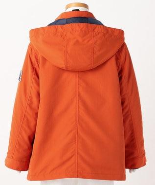 J.PRESS KIDS 【TODDLER】ナイロンタッサー(3WAY) コート オレンジ系