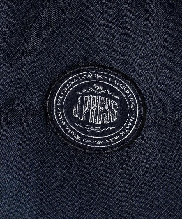 J.PRESS KIDS 【SCHOOL】ウールライクヘリンボン ダウンコート ネイビー系