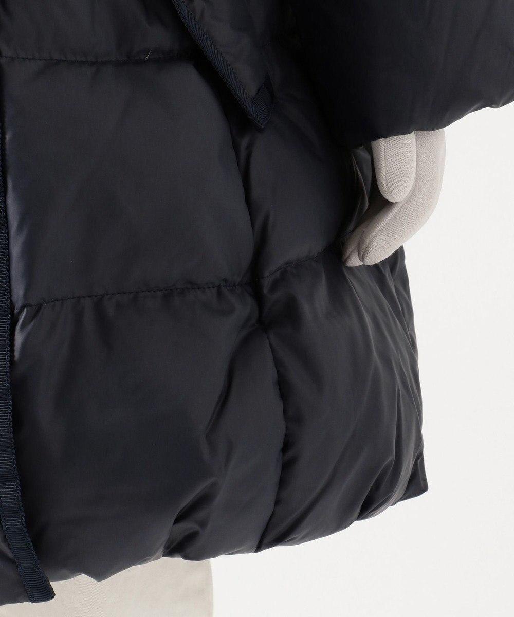 組曲 KIDS 【110~140cm】タフタロングダウン コート ネイビー系