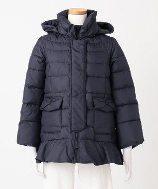 組曲 KIDS 【110~140cm】タフタショート コート ネイビー系