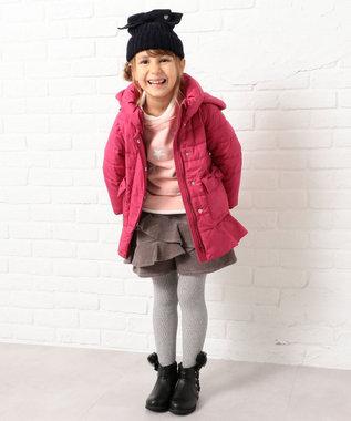 組曲 KIDS 【110~140cm】タフタショート コート レッド系