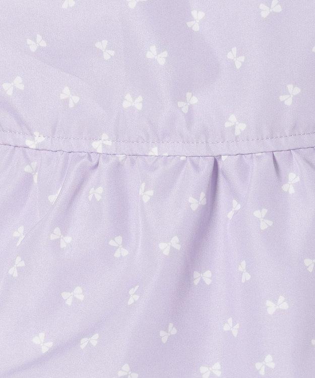 組曲 KIDS 【TODDLER】ポリエステル リボンpt ブルゾン