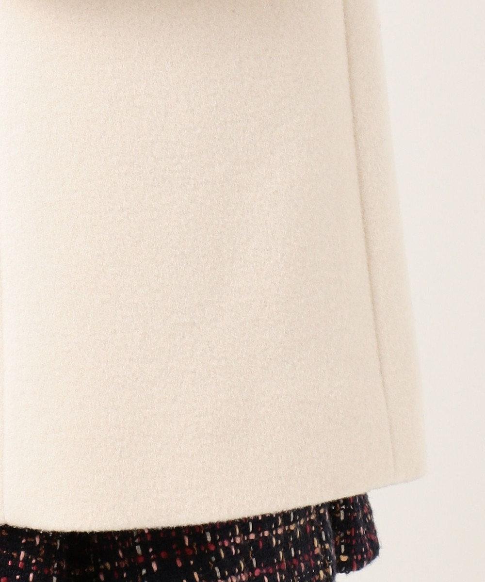 Feroux 【9周年記念WEB限定カラー】Jewelryモッサ ウールコート アイボリー系