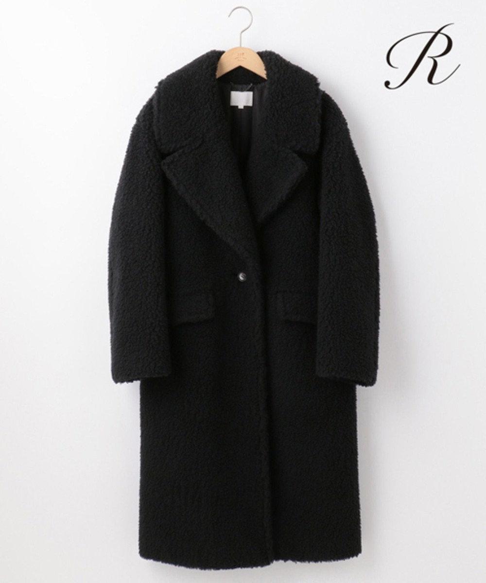 23区 L 【R(アール)】CAMEL BOA チェスターコート ブラック系