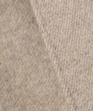 23区 L 【マガジン掲載】ウールリバーツイル ノーカラーコート ベージュ系