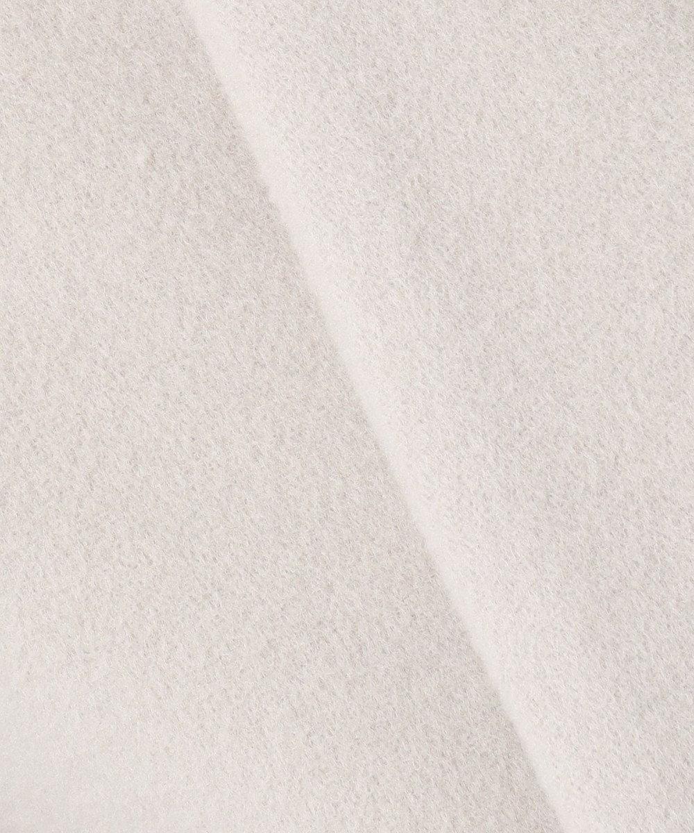 any SiS L 【MANTECO】カラーレスVネック コート グレージュ