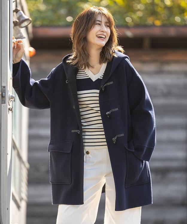 組曲 【カシミヤ混】W/Ny カシミヤリバー ダッフルコート