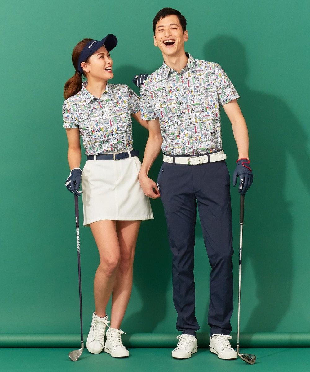23区GOLF 【WOMEN】ハイカット ゴルフシューズ ホワイト系