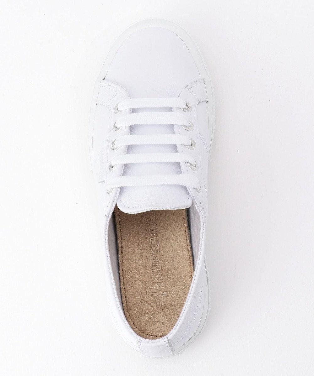 自由区 【SUPERGA】WHITE LEATHER スニーカー ホワイト系