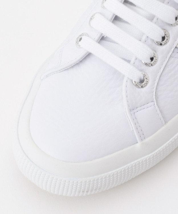 自由区 【SUPERGA】WHITE LEATHER スニーカー