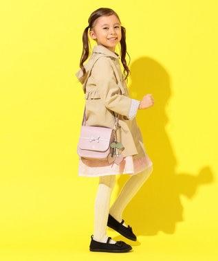 組曲 KIDS 【15-21cm】カジュアル バレエシューズ ブラック系