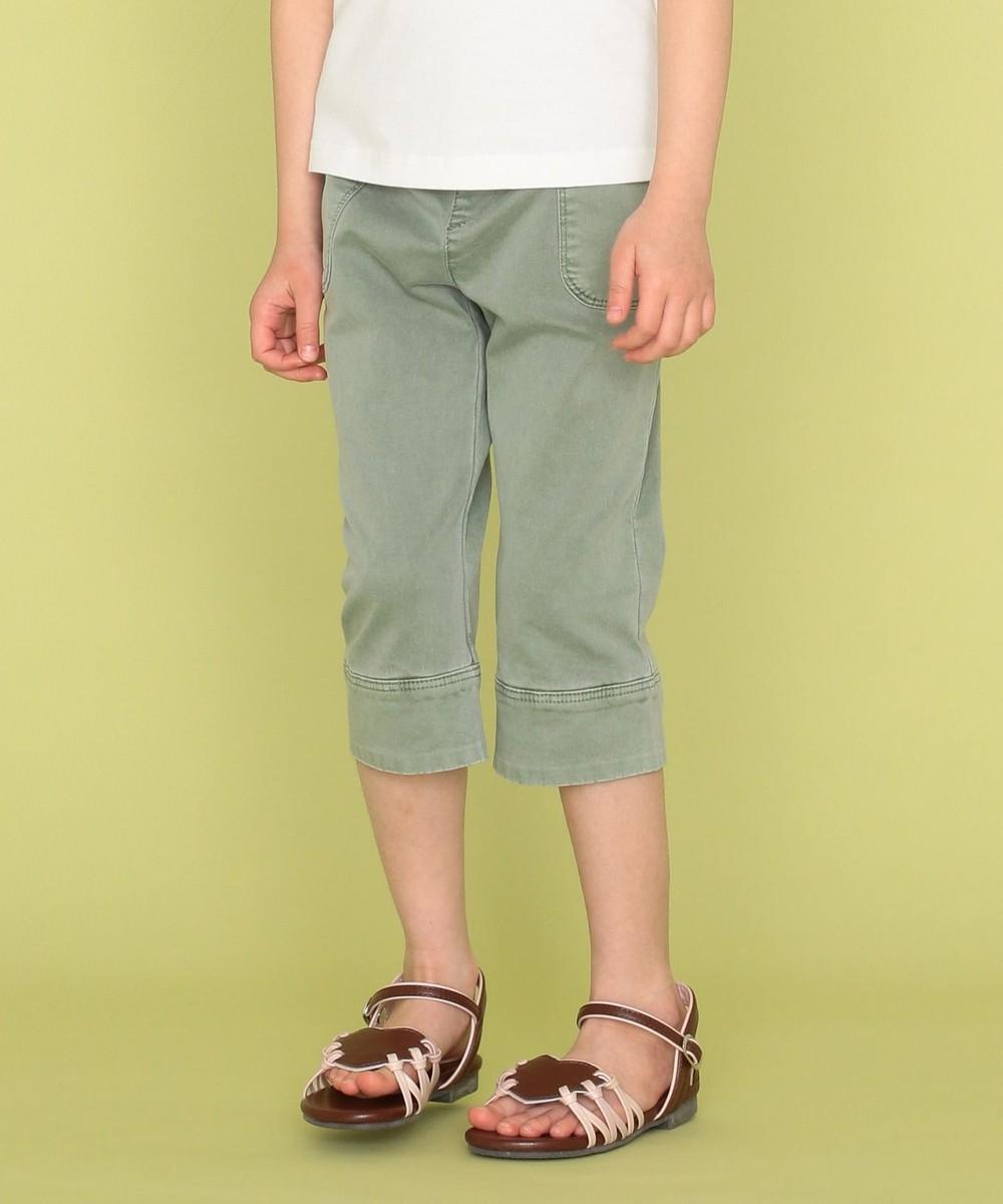【オンワード】 組曲 KIDS>シューズ 【22-24cm】ハート編み上げサンダル ブラウン 24 キッズ 【送料無料】