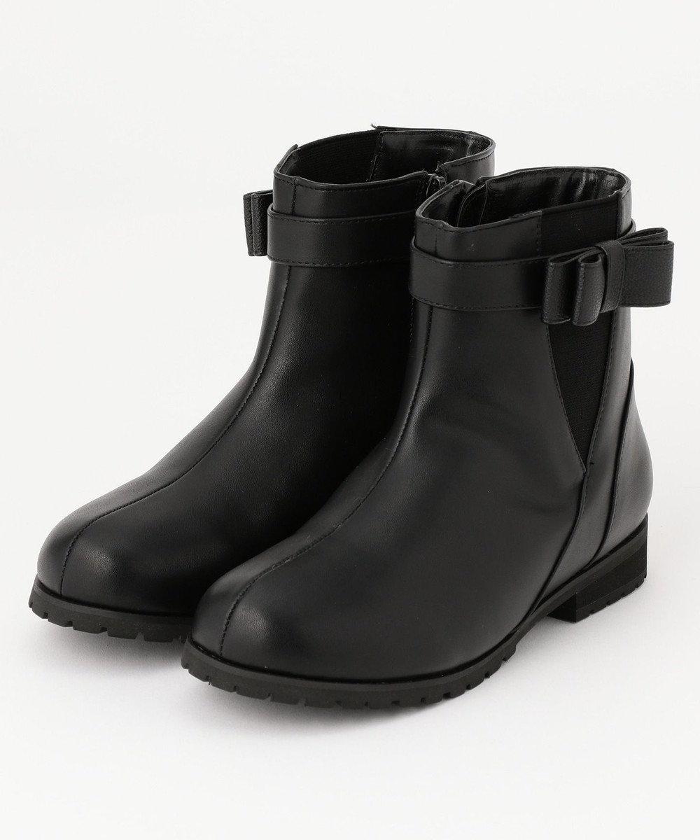 組曲 KIDS 【SCHOOL雑貨】ショートブーツ ブラック系