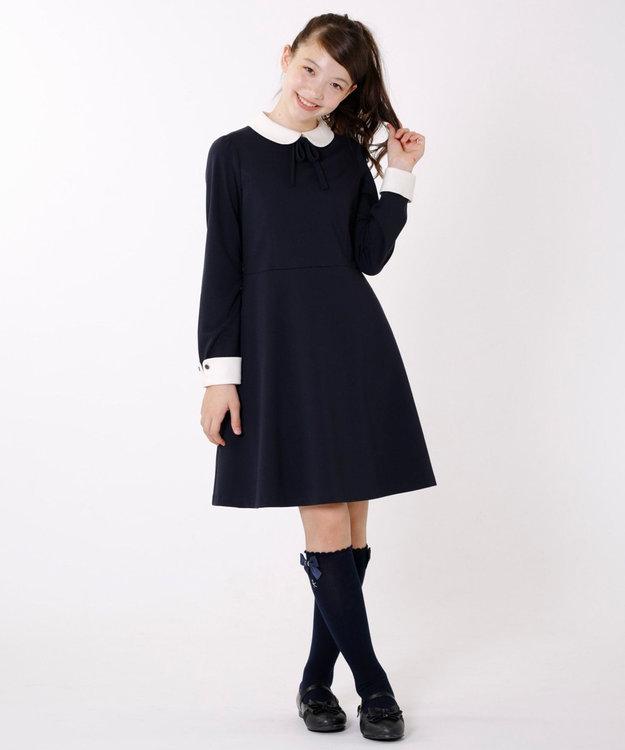 組曲 KIDS 【SCHOOL雑貨】グリッターバレエシューズ (22~24cm)