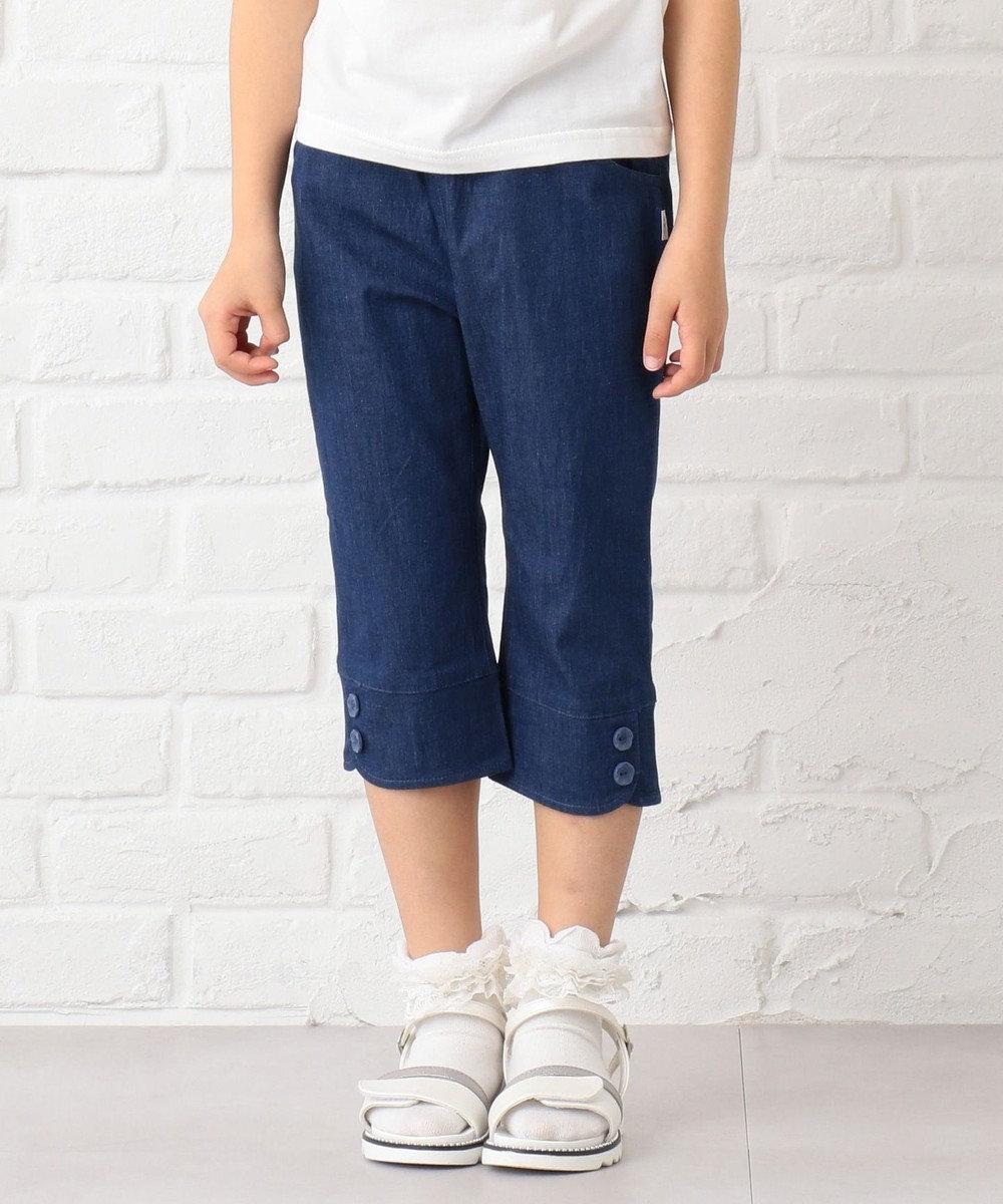 組曲 KIDS 【TODDLER雑貨】メタリックモールドサンダル (18~21cm) アイボリー系
