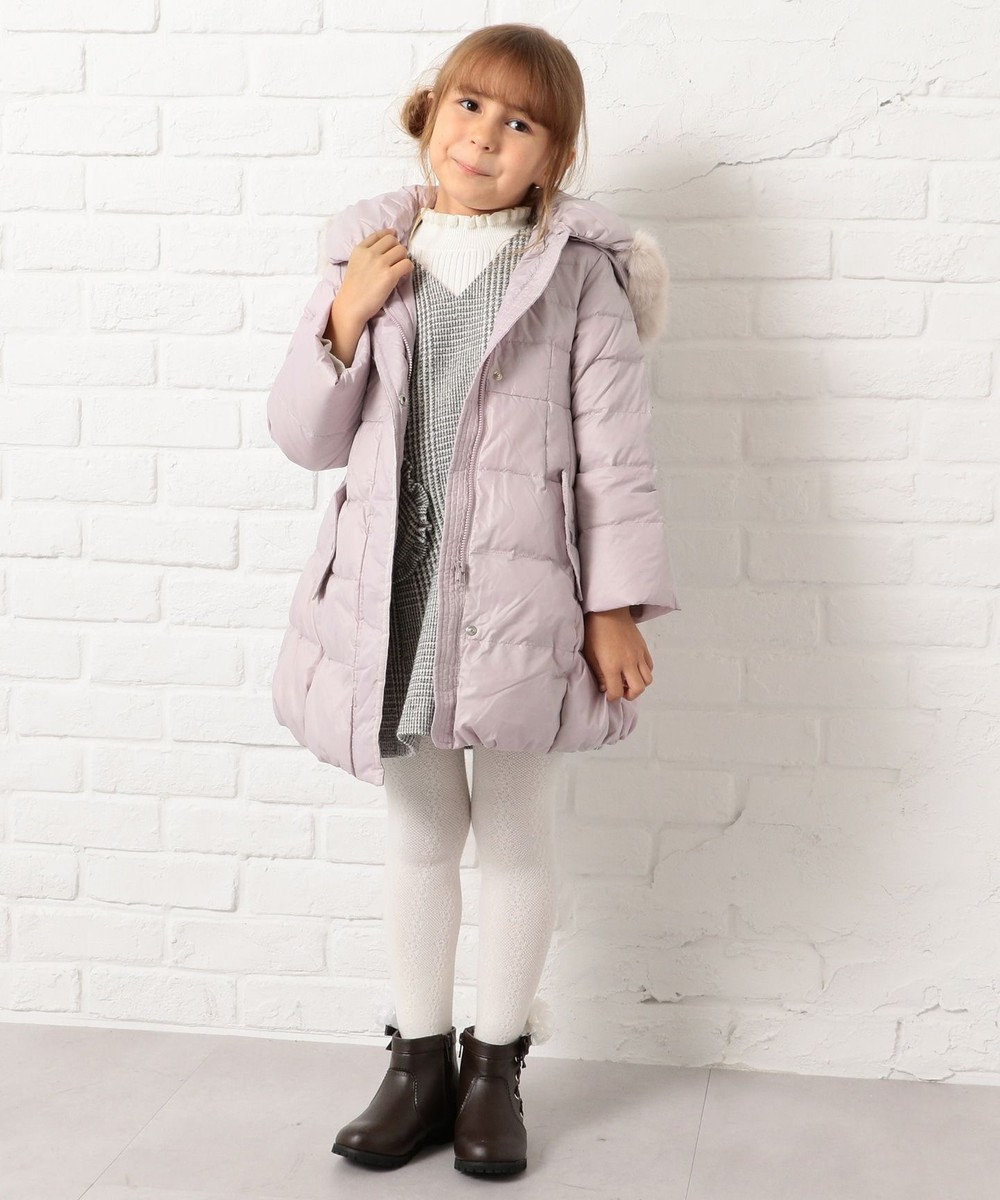 組曲 KIDS 【KIDS雑貨】サイドレースUP合皮ショート ブーツ(19~21cm) ブラウン系