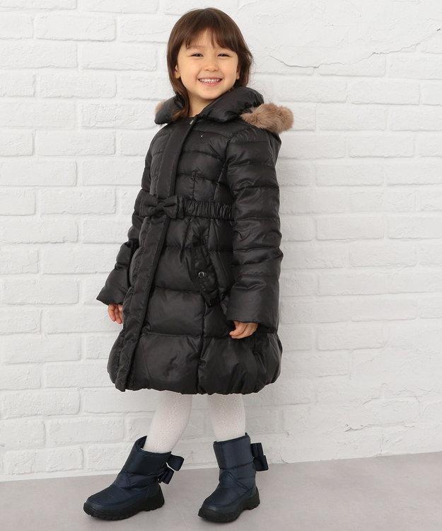 組曲 KIDS 【KIDS雑貨】スノー ブーツ (18~21cm) ネイビー系