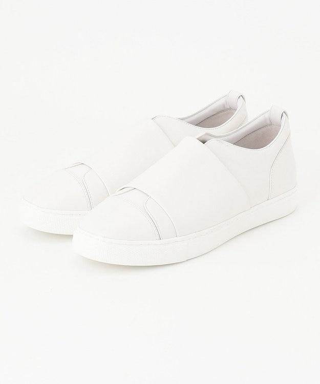 ICB 【マガジン掲載】Sneakers スリッポン レザースニーカー(番号CN32)