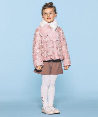 TOCCA BAMBINI 【KIDS雑貨】フラワーリボン バレエシューズ ホワイト系