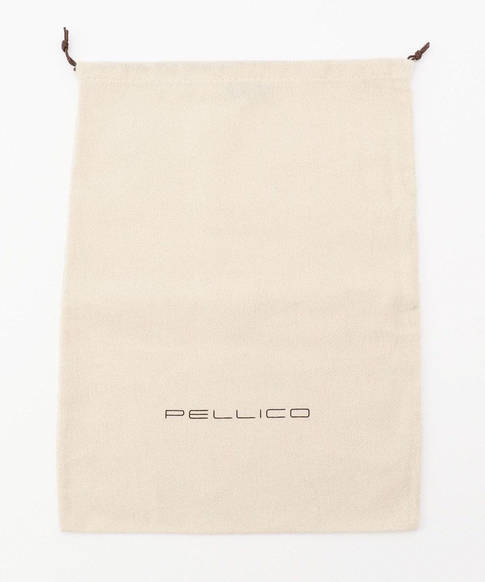 23区 【R(アール)】PELLICO ポインテッド ワイド エッジ パンプス ブラック系