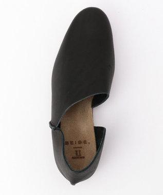 BEIGE, UーDOT / 2P SLIP-ON シューズ(Basic) Black