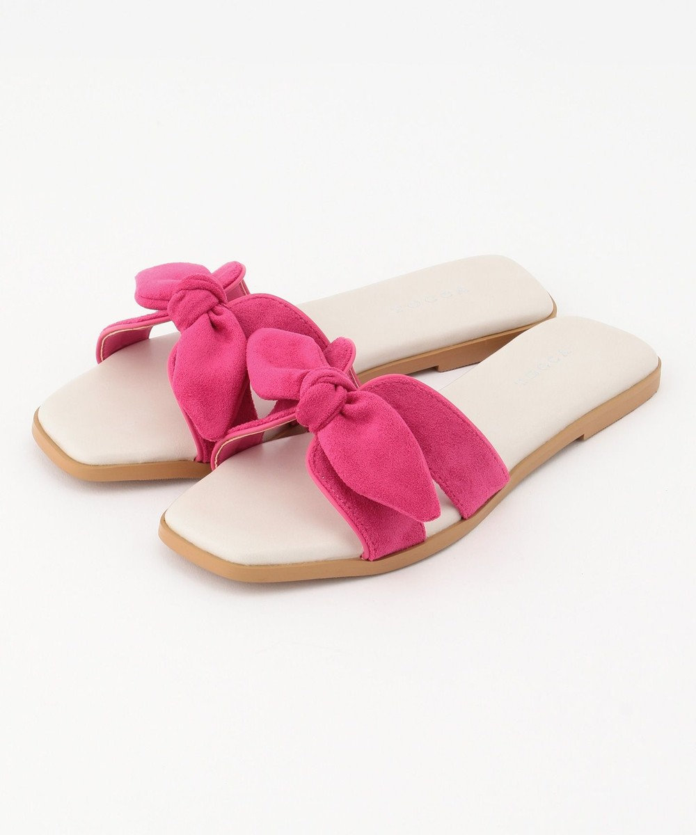 TOCCA 【TOCCA LAVENDER】Flat sandals フラットサンダル ピンク系
