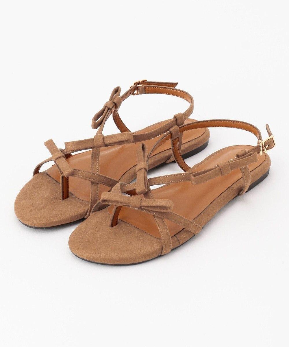 TOCCA 【新色登場!】Ribbon Tong Sandals サンダル [新色]ベージュ系
