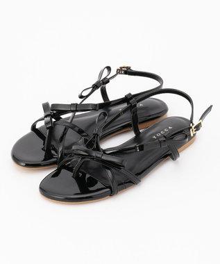 TOCCA 【新色登場!】Ribbon Tong Sandals サンダル ブラック系