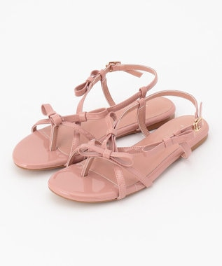 TOCCA 【新色登場!】Ribbon Tong Sandals サンダル ピンク系