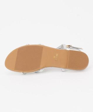 TOCCA 【新色登場!】Ribbon Tong Sandals サンダル シルバー系