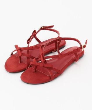 TOCCA 【新色登場!】Ribbon Tong Sandals サンダル [新色]レッド系