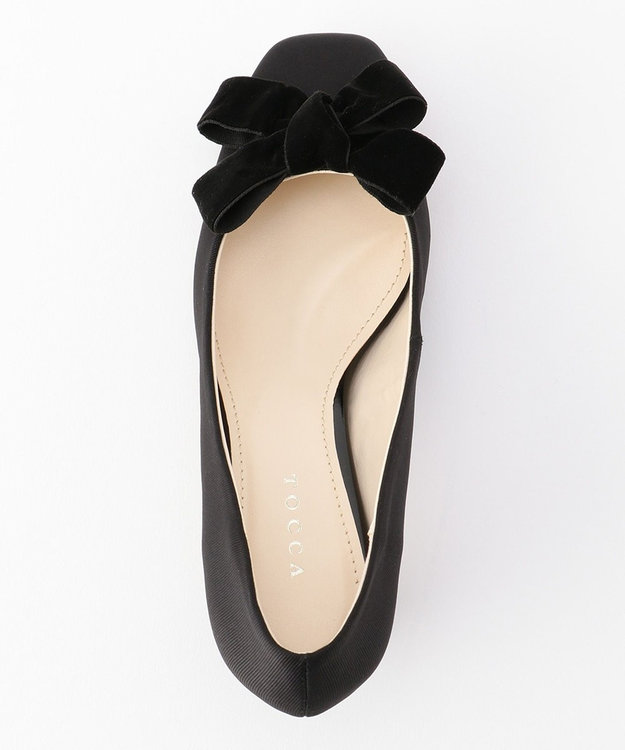 TOCCA VELVET RIBBON PUMPS パンプス