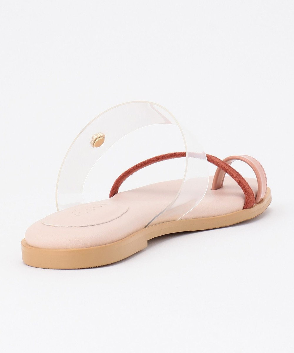 TOCCA SHEER SANDALS フラットサンダル ピンク系