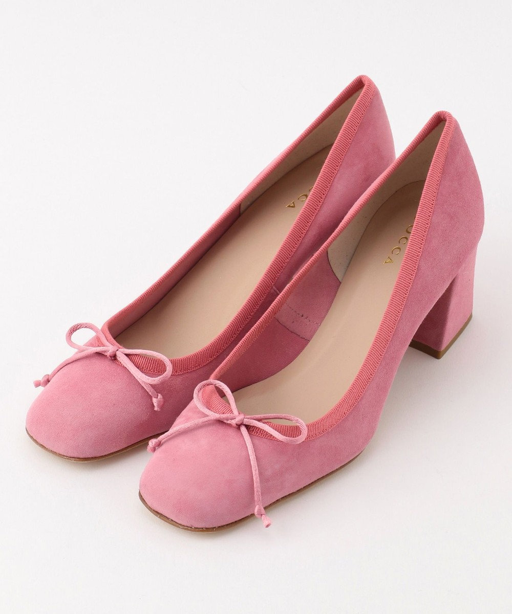 TOCCA 【IMPORT】SUEDE PUMPS パンプス ピンク系