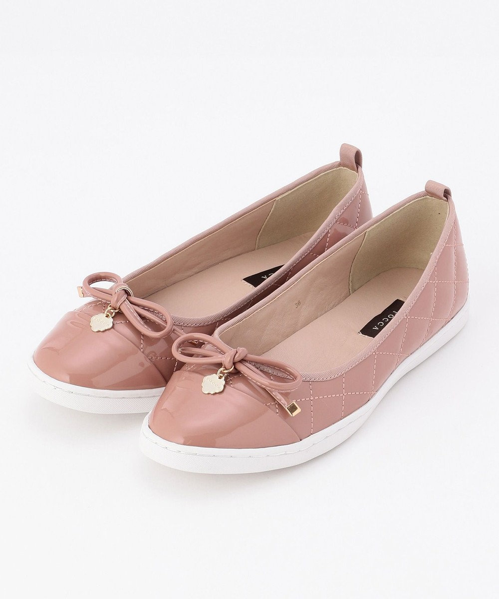 TOCCA QUILTING RIBBON SNEAKERS スニーカー ピンク系
